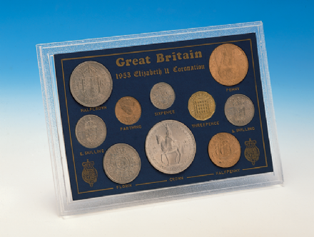 1953 Uncirculated Coronation Set - Queen Elizabeth II